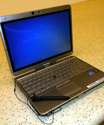 image of a laptop sitting on a table