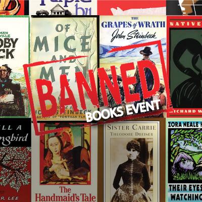 MJC Banned Books Week online celebration