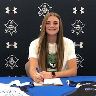 MJC softball player, Morgan Keeney, commits to Salem University