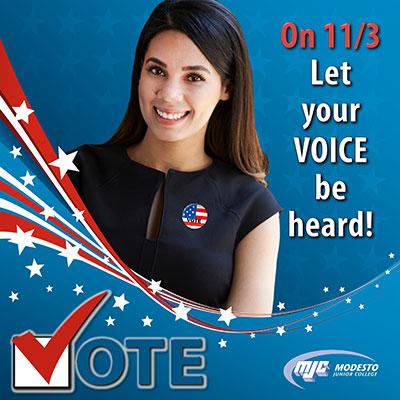 Vote on November 3rd