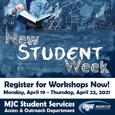Register Now for New Student Week Workshops