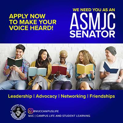 Apply now to be an ASMJC Senator